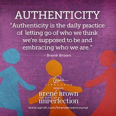 The Definition of Authenticity #OLCBreneCourse http://bit.ly/brenecourse pic.twitter.com/q97IG64lpc