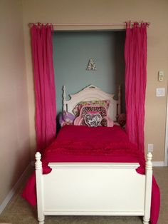 Bed In Closet On Pinterest Bed In Closet Closets And