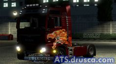 Howl MAN American Truck Simulator, Man, Trucks, Vehicles, Truck, Car, Vehicle, Tools