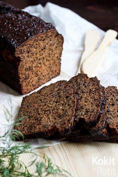 Joulukalenterin 11. luukku         Saaristolaisleipä on klassikko, joka kaipaa samaan suulliseen tasapainottavaa, suolaista päällis...