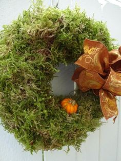 Moss Wreath Pumpkin Wreath Autumn Wreath Dried Wreath Home Decor Fall Decor Autumn Wreath Thanksgiving Wreath Moos Kranz Kürbis Kranz Herbst Kranz getrockneter Kranz Home Decor Herbst Dekor Herbst Kranz Thanksgiving Kranz Moss Wreath, Straw Wreath, Twig Wreath, Green Wreath, Wreath Crafts, Burlap Wreath, Wreath Fall, Autumn Wreaths For Front Door, Holiday Wreaths