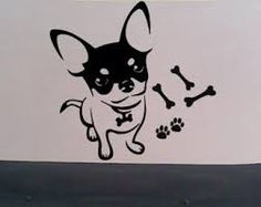Image result for chihuahua stencil