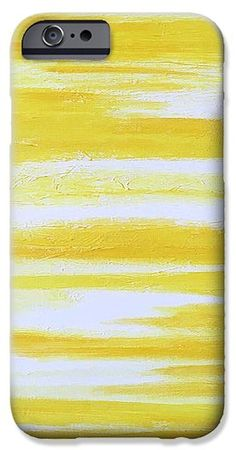 "iPhone Cases & Galaxy Cases via abstract art ""Sunny Side Up"" by Lynn Tolson…"