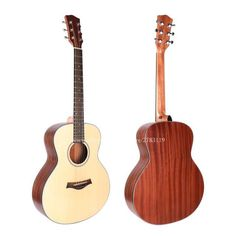 """36"""" Acoustic Electric Guitar,Spruce Top/Body guitarra eletrica With LCD Pickup, GS mini guitar,For Children For travel guitar"""