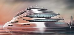 Yacht concepts design on Behance