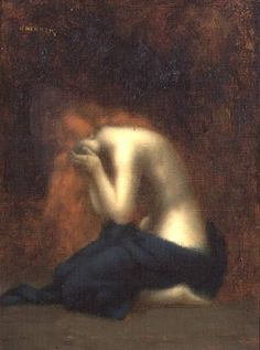 Solitude, Mary Magdalene, by Jean-Jacques Henner