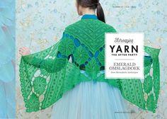 Deze prachtige omslagdoek staat in de Yarn afterparty 03.