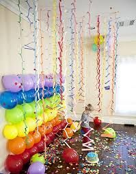I love the balloon wall which can double as a game. Children take turns in popping the balloons to reveal prizes