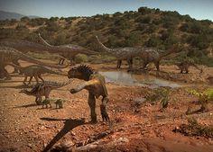 A Jurassic Landscape from Dinosaur Revolution TV series