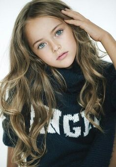 Nine year old super model!! People say she is too young
