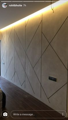 Kd panel, kd flooring, kd panels and completely different establishing provides are of fantas Wall Panel Design, Door Design, Office Interior Design, Interior Walls, Tv Wanddekor, Tv Wall Decor, Home Ceiling, Wall Molding, Wall Finishes