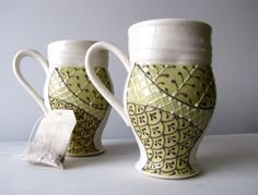 Hand-made mugs- $100 (free shipping)
