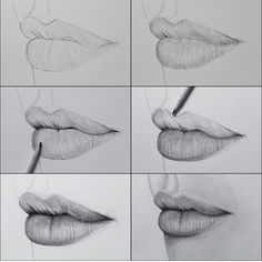How To Draw Lips #Musely #Tip