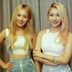 Somin and Jiwoo