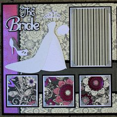 Complete Wedding Album Series - Bride and Groom 12x12 Double Scrapbook Layout |Faith Abigail Designs-3rd in the video series