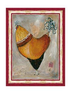 Jennifer garat rooster prints , Posters and Prints at Art.com