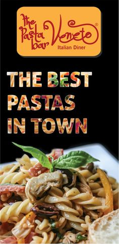 Enjoy the best pastas in town at The Pasta Bar Veneto.