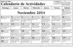 Noviembre 2014 elementary - español
