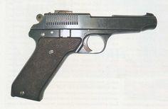 TKB-263 (ТКБ-263) prototype pistol by Sergej Alexandrovich Korovin (Сергей Александрович Коровин, 1884–1946), made in 1928, chambered in 7.63 Mauser (7.62 mm Tokarev not having been introduced yet). http://forum.guns.ru/forummessage/15/547755.html