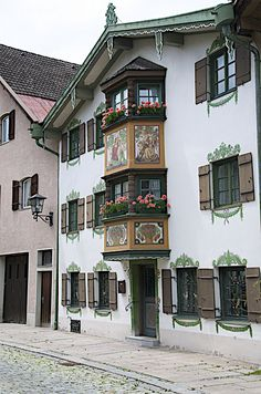 Fussen in Bavaria, Germany                                                                                                                                                                                 More
