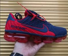 43a6878a4065 Nike Air Max 2018.2 KPU Men shoes Dark Blue Red