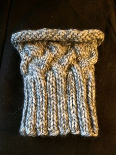 Ravelry: Cabled Boot Cuffs pattern by Cheryl Beckerich Knitting Designs, Knitting Patterns Free, Knit Patterns, Free Knitting, Knitting Projects, Knitted Boot Cuffs, Knit Boots, Knitting Socks, Knitted Hats