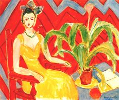 Michaela by Henri Matisse, 1943