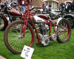 I received a nice e-mail some time ago from Allen Sunderland. Allen Sunderland attended all the Legends of the Motorcycle events at Hal. Vintage Cycles, Vintage Bikes, Vintage Motorcycles, Vintage Racing, Speedway Motorcycles, Racing Motorcycles, Flat Track Motorcycle, Motorcycle Bike, Motorcycle Events