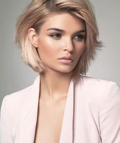 Best Bob Hairstyles & Haircuts for Women - Hairstyles Trends Short Hairstyles For Women, Cool Hairstyles, Hairstyle Ideas, Hair Ideas, Hairstyles Pictures, Bob Hairstyles For Thick Hair, Curly Hair, Pictures Of Short Haircuts, Woman Hairstyles
