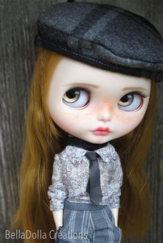 Leonie: Blythe Country Summer zvyk OOAK by BellaDolla 049