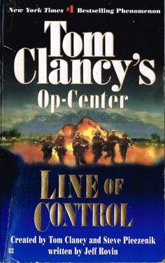 Tom Clancy's Op-Center Line of Control 2001 paperback Suspense India Islam