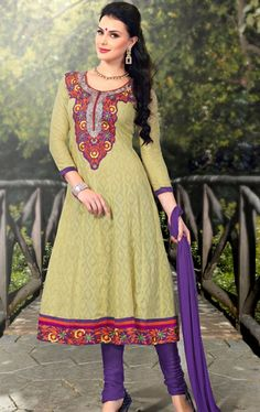 Picture of Ethereal Sea Green Indian Salwar Suit