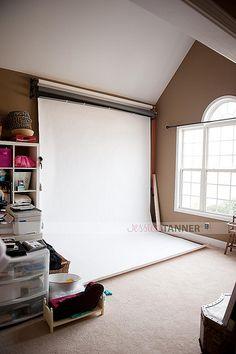 Matural Light Studio Set Up Photography