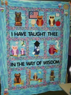 Who's Whoo Quilt - Frances B 1