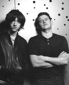 Alex Turner & Jamie Cook
