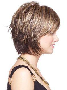25.Short Layered Haircut More
