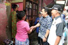 Rusdiyan kampanye di Kelurahan Petojo Utara