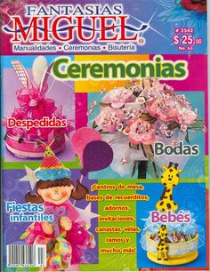 Crafts To Make, Paper Crafts, Baby Shower, Fabric, Pattern, Magazine, Disney, Art Projects, Craft
