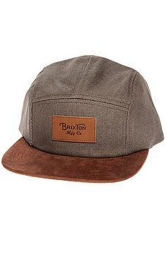 The Cavern 5 Panel in Grey Chambray by Brixton