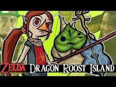 Legend of Zelda: The Wind Waker - Dragon Roost Island for Violin, Harp a...