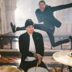 Matt Nicholls x Jordan Fish Bring Me The Horizon, Oli Sykes, New Bands, Cool Bands, Matt Nicholls, Matt Kean, Love Band, Bmth, Of Mice And Men