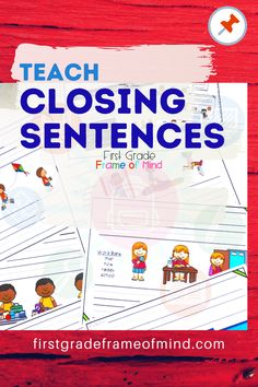 A better way to teach paragraph writing for kids is not necessarily the usual order paragraphs are written. If your students aren't remembering to write their closing sentences, then try the tips in this post.