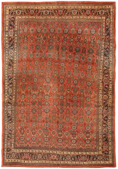 Antique Bidjar Carpet X - Fred Moheban Gallery
