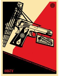 Obey Illustration by Shepard Fairey