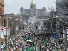 St. Patrick's Day Parade in Downtown DSM