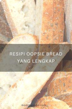 Resipi Oopsie Bread Yang Lengkap Cloud Bread, Stevia, Banana Bread, Microwave, Diet, Desserts, Recipes, Food, Tailgate Desserts
