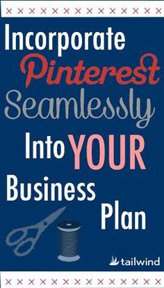 Your Pinterest Business Plan | Tailwind Blog: Pinterest Analytics and Marketing Tips Pinterest News - Tailwindapp.com