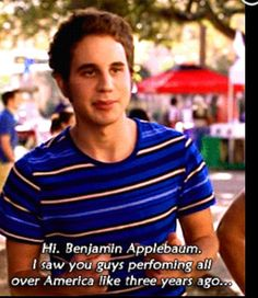 Pitch perfect :) Pitch Perfect 1, Ben Platt, Dear Evan Hansen, Tv Quotes, Good Movies, Movies And Tv Shows, Movie Tv, Laughter, The Cure