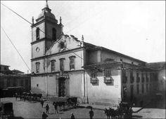Antiga Catedral da Sé em 1907.