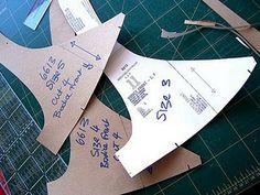 EASY way of transferring multi sized patterns onto cardboard